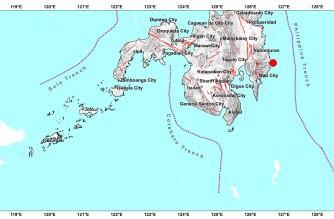 4.8-magnitude earthquake strikes Davao Oriental