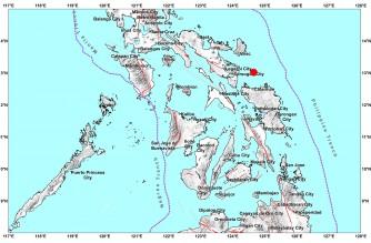 4.4-magnitude quake strikes off Sorsogon