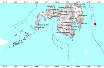 4.5-magnitude quake strikes off Davao Oriental